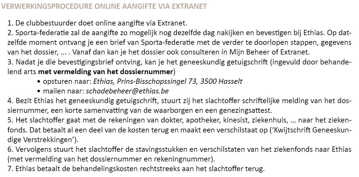 verwerking online